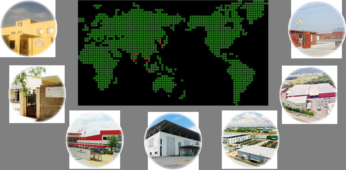 サンライズ工業株式会社 ネットワーク